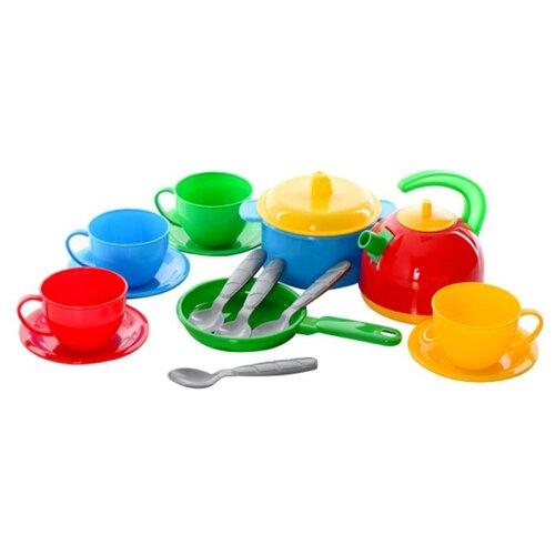 Купить Набор посуды ТехноК Маринка-5 1134, Игрушечная еда и посуда