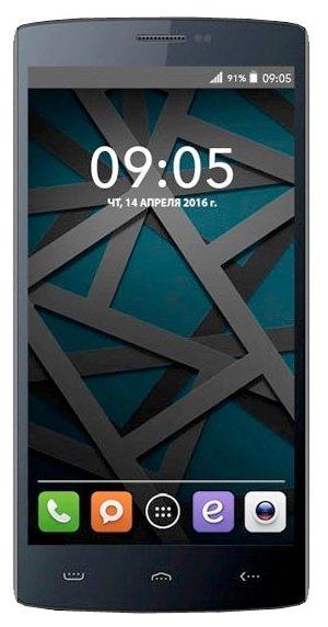 Смартфон BQS-5502 Hammer Black, черный