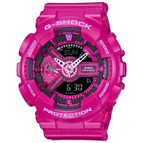 цена Наручные часы CASIO GMA-S110MP-4A3 онлайн в 2017 году