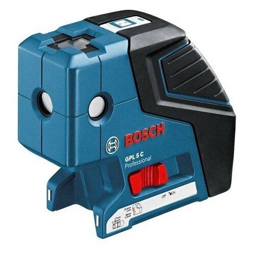 Фото - Лазерный уровень BOSCH GPL 5 С Professional + BM1 (0601066302) точечный лазер bosch gpl 5 0601066200