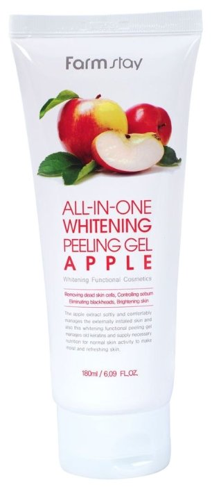Farmstay пилинг для лица All-In-One Whitening Peeling Gel Apple