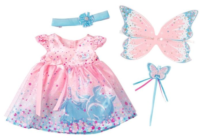 Zapf Creation Платье феи для куклы Baby Born 823644