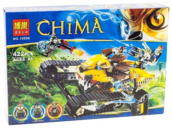 Конструктор BELA Chima 10056 Королевский охотник Лавала