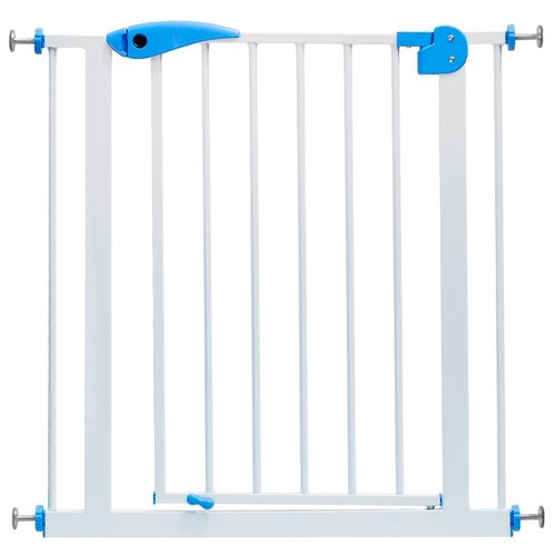 Купить Baby Safe Ворота безопасности 75-85 см XY-008 белый/синий, Ворота безопасности, перегородки