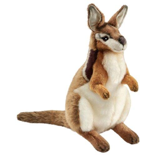 Мягкая игрушка Hansa Луннокоготный валлаби 36 см мягкая игрушка hansa детёныш леопарда 18 см