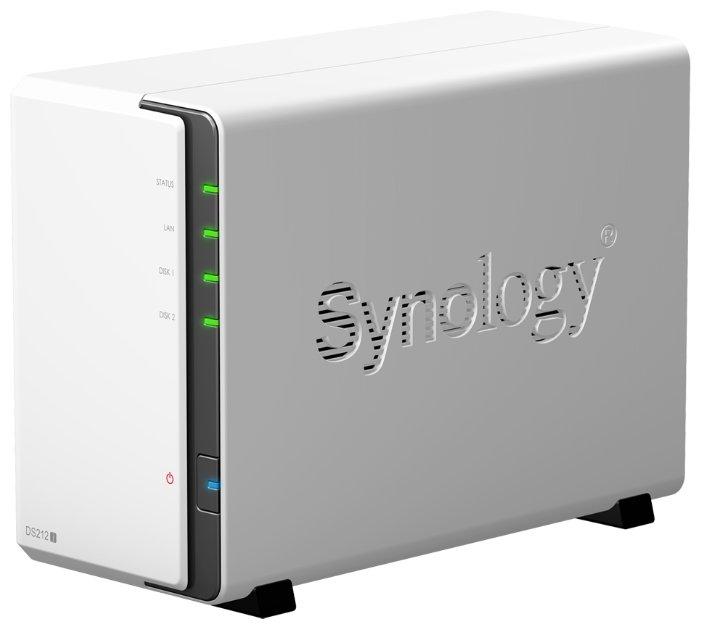 Сетевой накопитель (NAS) Synology DS212j