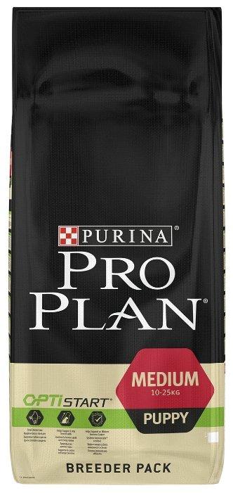 Корм для щенков Purina Pro Plan Optistart курица 18 кг (для средних пород)