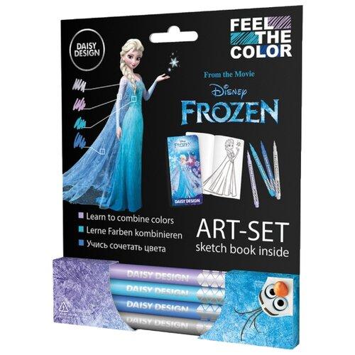 Купить Daisy Design Арт-Сет Feel The Color. Frozen, Раскраски