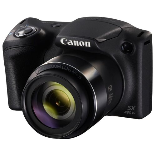 Фотоаппарат Canon PowerShot SX430 IS черный фотоаппарат canon powershot sx730 hs silver