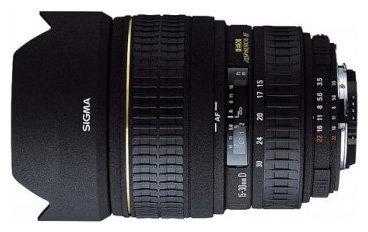 Объектив Sigma AF 15-30mm f/3.5-4.5 EX ASPHERICAL DG Pentax KA/KAF/KAF2