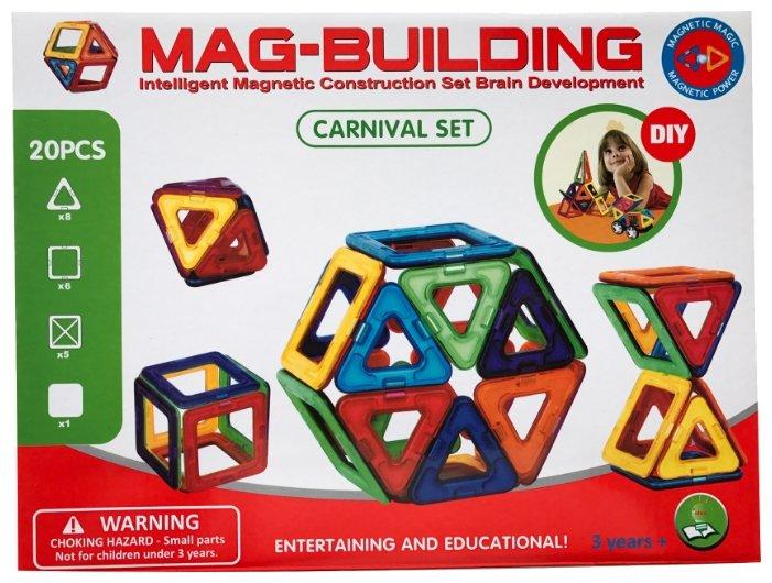 Магнитный конструктор Mag-Building Carnival GB-W20