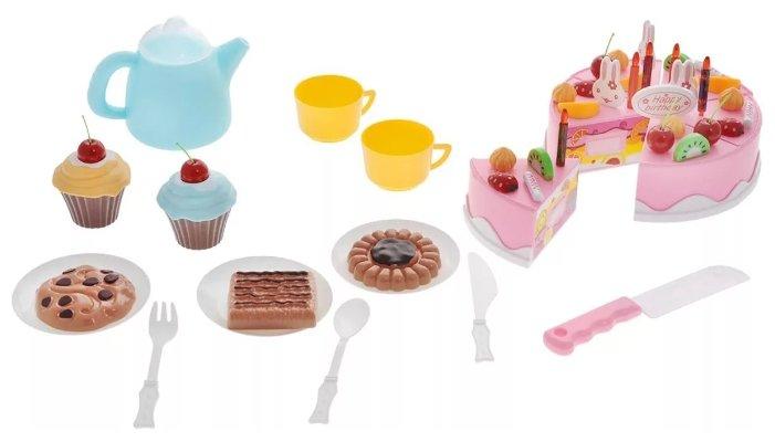 Набор продуктов с посудой ABtoys Помогаю маме PT-00278