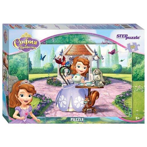 Пазл Step puzzle Disney Принцесса София (95041), 260 дет. детский музыкальный инструмент disney микрофон софия прекрасная принцесса 2698575