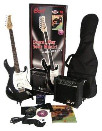 Гитарный комплект Cort CGP-110-BKS