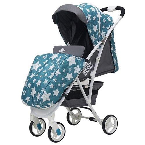 Прогулочная коляска RANT Largo stars aquamarine