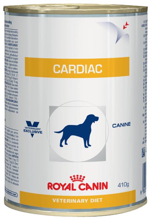 Корм для собак Royal Canin Cardiac при болезнях сердца 12шт. х 410г