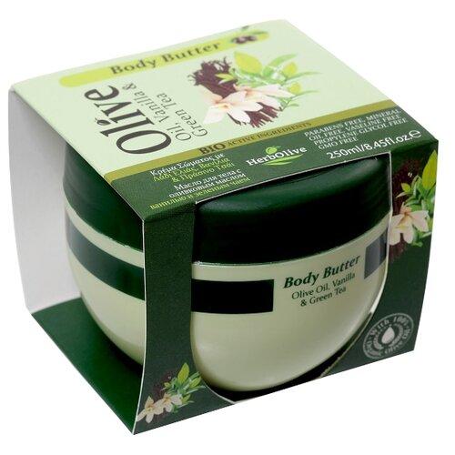 Масло для тела HerbOlive с ванилью и зеленым чаем, 250 млКремы и лосьоны<br>