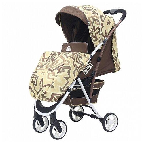 Купить Прогулочная коляска RANT Largo labirint beige, Коляски