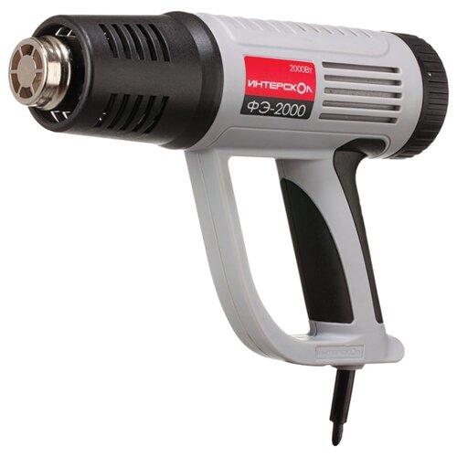 Строительный фен Интерскол ФЭ-2000 Case 2000 Вт