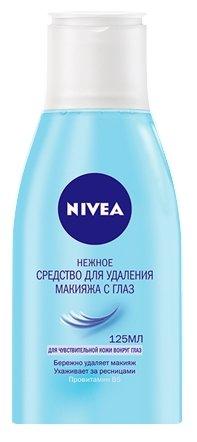 Nivea средство для снятия макияжа с глаз Нежное