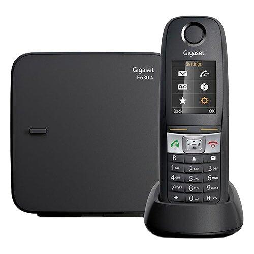 Радиотелефон Gigaset E630A черный