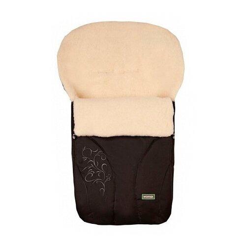 Купить Конверт-мешок Womar Snowflake в коляску 95 см черный, Конверты и спальные мешки