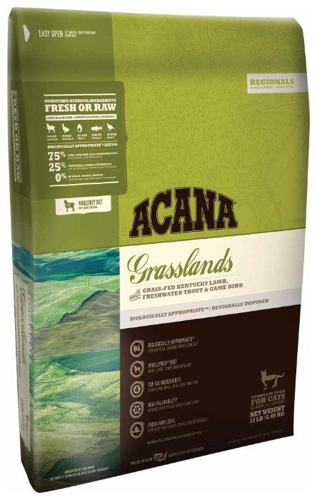 Корм для кошек Acana Regionals Grasslands беззерновой, с ягненком 5.45 кг