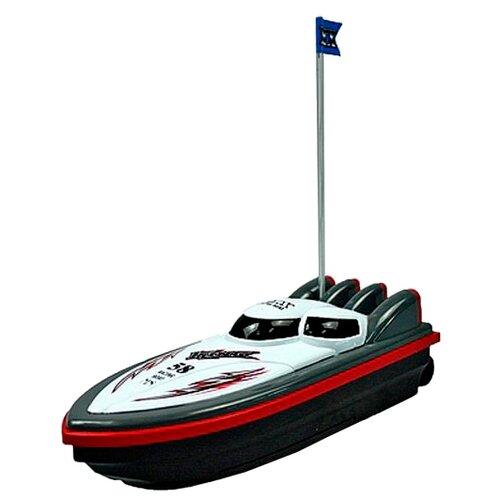 Купить Катер Yako M6521 21 см белый, Радиоуправляемые игрушки