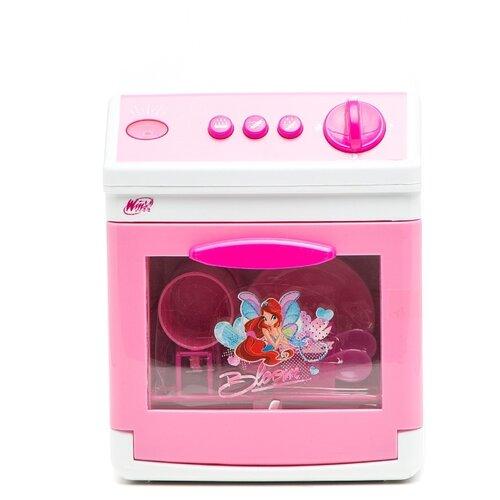 Купить Посудомоечная машина Играем вместе Winx 1602-R розовый/белый, Детские кухни и бытовая техника