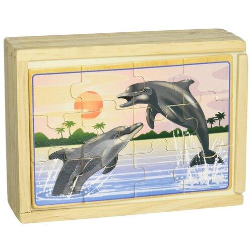 Купить Набор пазлов Melissa & Doug Подводная жизнь (3795), Пазлы
