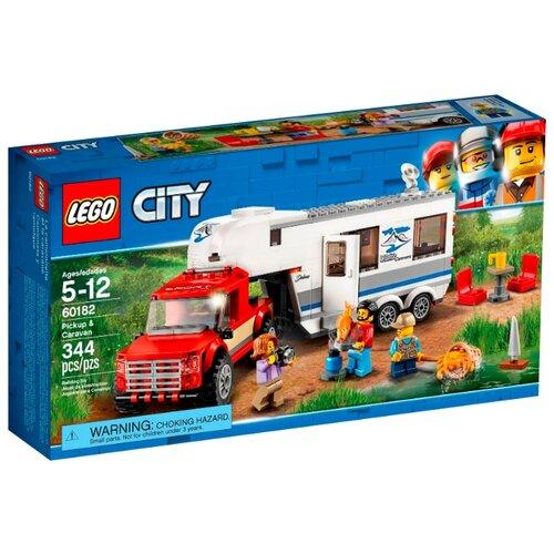 Купить Конструктор LEGO City 60182 Пикап и трейлер, Конструкторы