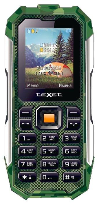 teXet TM-518R черный Мобильный телефон