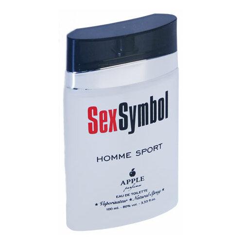 Фото - Туалетная вода Apple Parfums SexSymbol Homme Sport, 100 мл туалетная вода apple parfums белая роза 100 мл