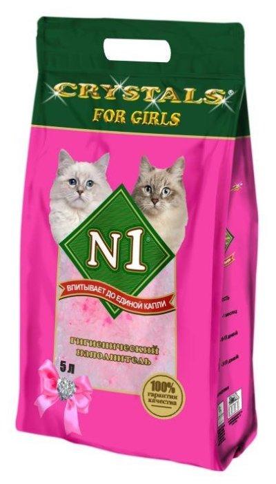 Впитывающий наполнитель N1 Crystals For Girls 5 л