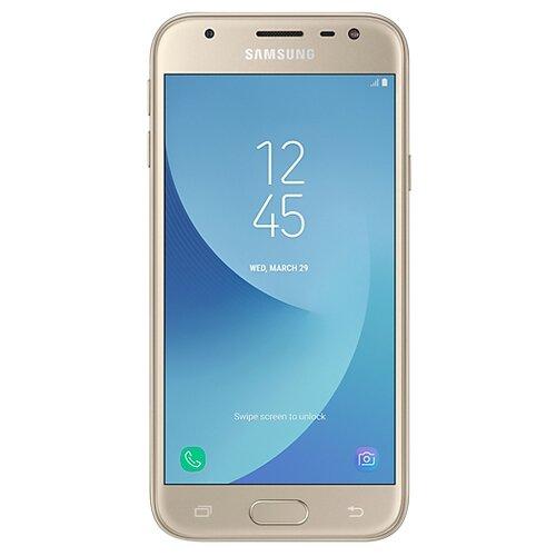 Смартфон Samsung Galaxy J3 (2017) золотой (SM-J330FZDDSER)