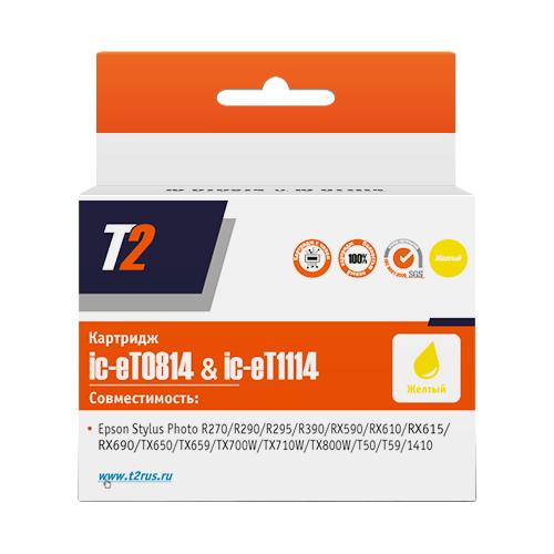 Фото - Картридж T2 IC-ET0814/IC-ET1114, совместимый 10pcs lm2904p dip8 lm2904n dip lm2904 new and original ic free shipping