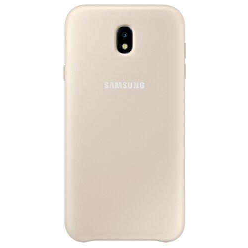 Чехол-накладка Samsung EF-PJ730 для Galaxy J7 (2017) золотистый чехол накладка samsung ef aj730 для galaxy j7 2017 черный