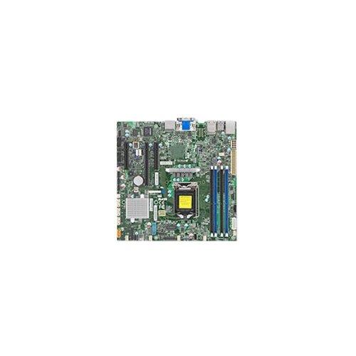 Материнская плата Supermicro X11SSZ-F серверная материнская плата supermicro x10drh c o