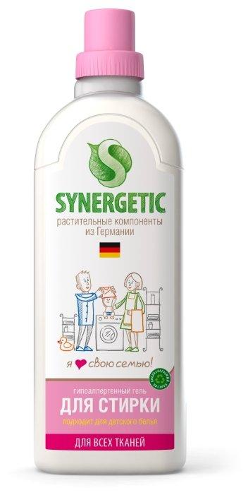 Synergetic гель для стирки белья, универсальный, гипоалергенный, 1000 мл