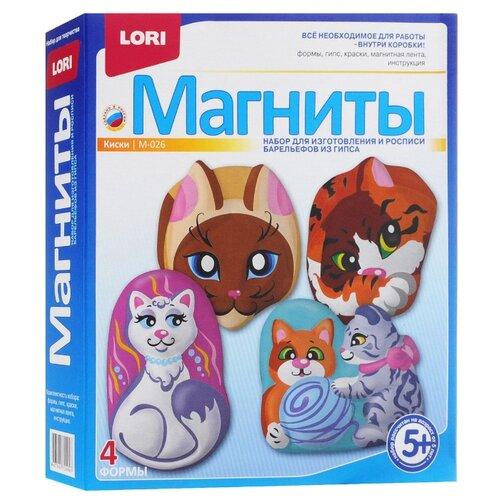 Купить LORI Магниты - Киски (М-026), Гипс