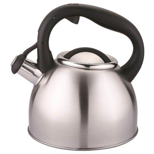 CS-Kochsysteme Чайник BONN 2,5 л, серебристый кастрюля cs kochsysteme marburg 4 л черный