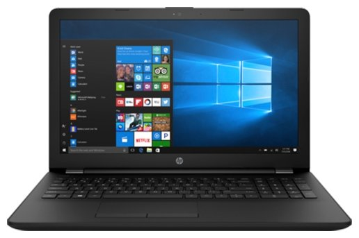"Ноутбук HP 15-ra026ur (Intel Celeron N3060 1600 MHz/15.6""/1366x768/4Gb/500Gb HDD/DVD-RW/Intel HD Graphics 400/Wi-Fi/Bluetooth/Windows 10 Home)"