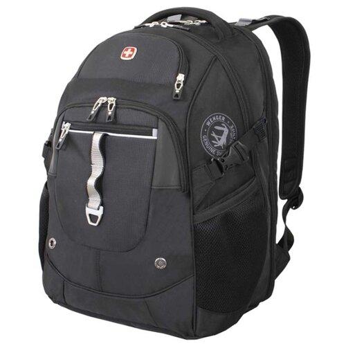 Рюкзак WENGER 6968204408 черный/серебристый