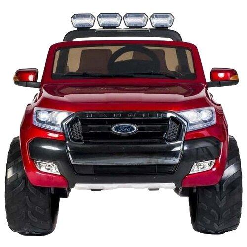 Купить RiverToys Автомобиль New Ford Ranger 4WD, лицензионная модель, вишневый глянец, Электромобили