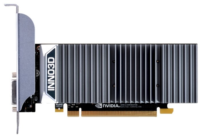 Видеокарта INNO3D GeForce GT 1030 1227Mhz PCI-E 3.0 2048Mb 6008Mhz 64 bit DVI HDMI HDCP — цены на Яндекс.Маркете