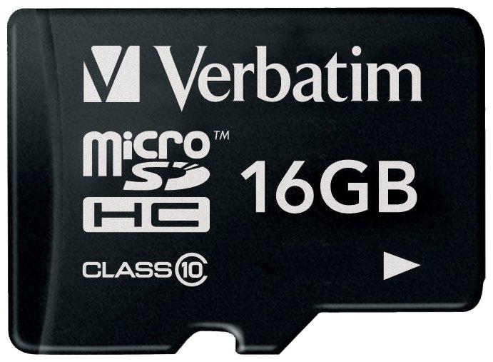 Verbatim microSDHC Class 10 32GB (без адаптера) - Карта флэш-памяти