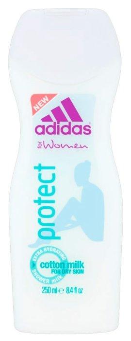 Молочко для душа Adidas Protect для женщин