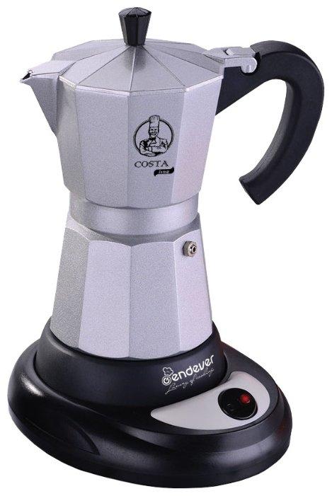 Гейзерная кофеварка электрическая Endever Costa-1010