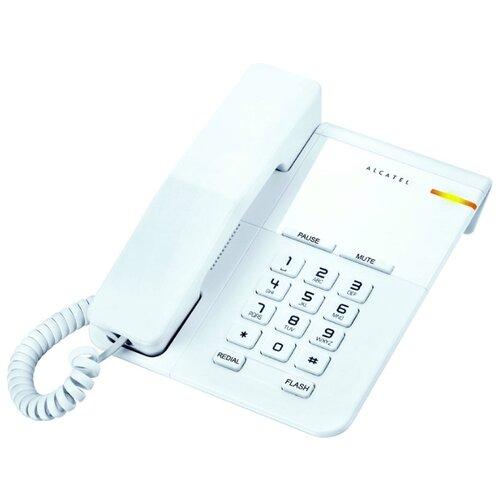Телефон Alcatel T22 whiteПроводные телефоны<br>