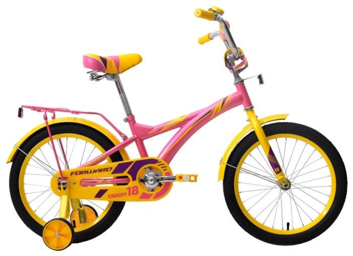 Детский велосипед FORWARD Crocky 18 (2018)